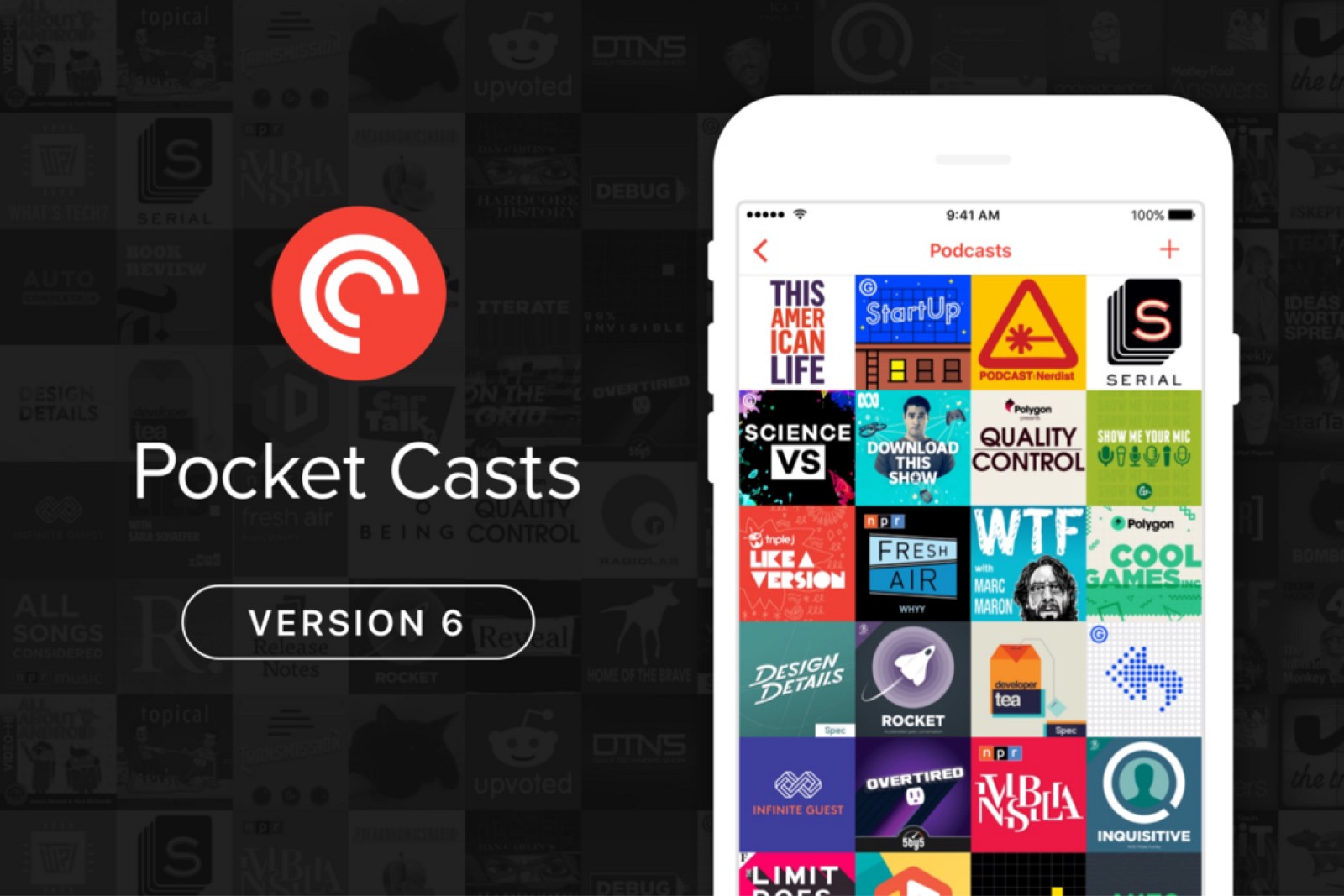 pocket cast mobile