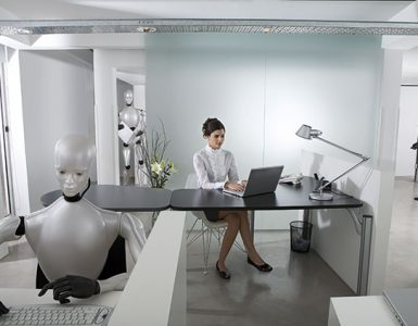 Robot in small Business